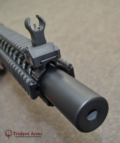 AR-9 Suppressed SBR Close-up