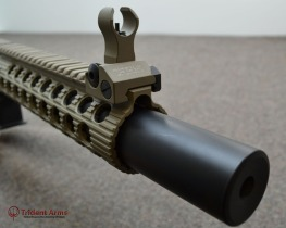 Colt Alpha FDE Rail SBR Suppressed Cluseup - thumb