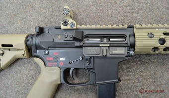 Colt Pattern Alpha FDE Rail Close-up 2 - thumb