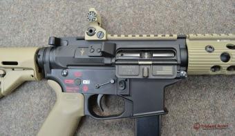 Colt Pattern Alpha FDE Rail Close-up 2 - thumb