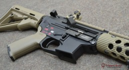 Colt Pattern Alpha FDE Rail Close-up 3 - thumb