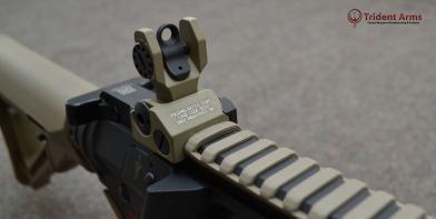 Colt Pattern Alpha FDE Rail Close-up - thumb
