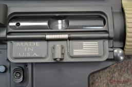 Colt Pattern Alpha FDE Rail Dust Cover Closeup - thumb