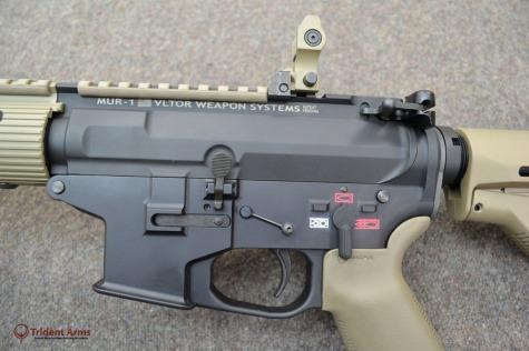 Colt Pattern Alpha FDE Rail Left Side - thumb