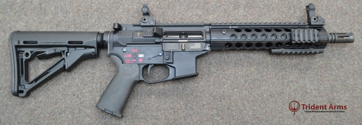 Colt Pattern Alpha Rail 10-5 Barrel SBR - thumb