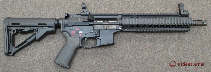 Colt Pattern Bravo Rail 10-5 Barrel SBR - thumb