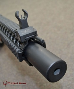 Suppressed Bravo SBR Close-up - thumb